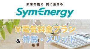 シン・エナジーの電気料金プランと特徴・メリット